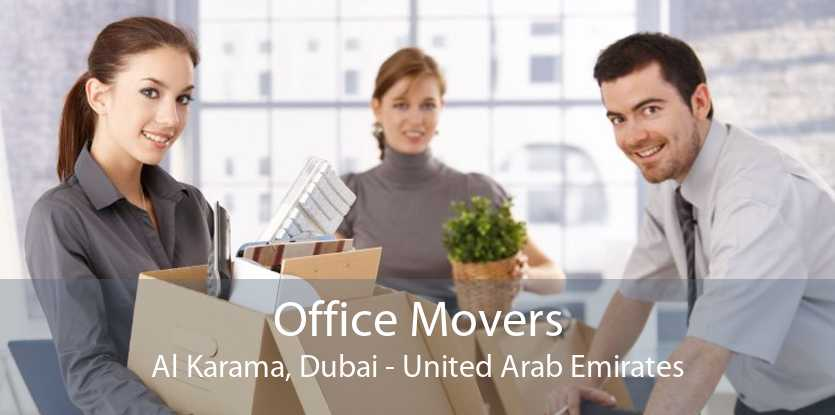 Office Movers Al Karama, Dubai - United Arab Emirates