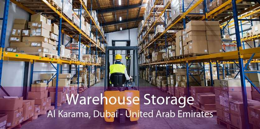 Warehouse Storage Al Karama, Dubai - United Arab Emirates