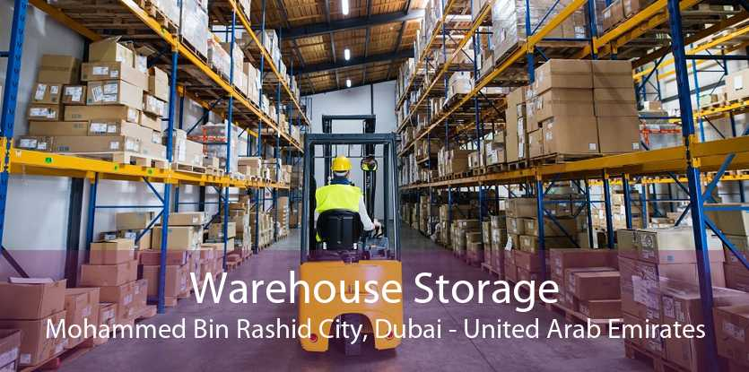 Warehouse Storage Mohammed Bin Rashid City, Dubai - United Arab Emirates
